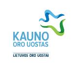 Il logotipo dell'aeroporto internazionale di Kaunas