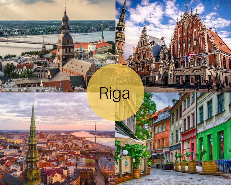 Tour capitali baltiche riga