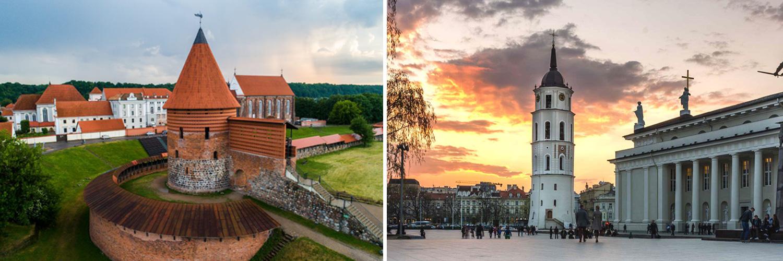 Tour capitali baltiche - Kaunas, Vilnius - Lituania