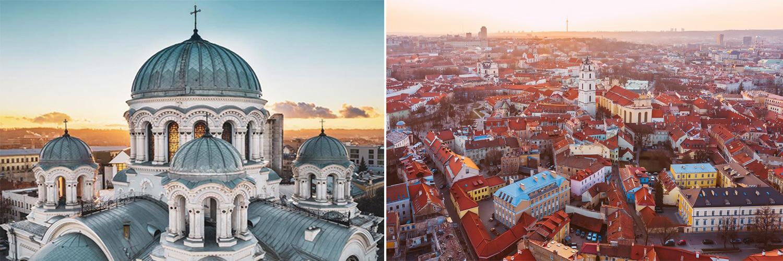 Kaunas, Vilnius - Lituania. Tour capitali baltiche.