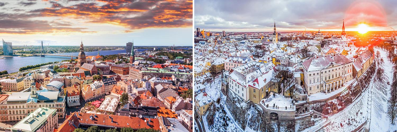 Tour capitali baltiche. Riga-Tallinn