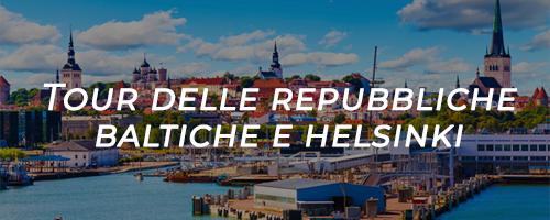 tour delle republiche baltiche e helsinki