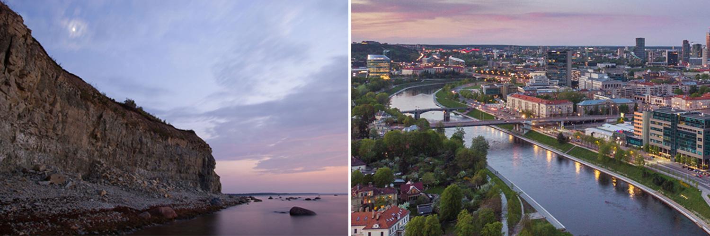 le isole di Saaremaa, Estonia. Vilnius Lituania.