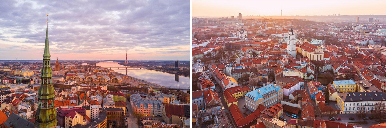 Tour capitali baltiche. Vilnius, Riga